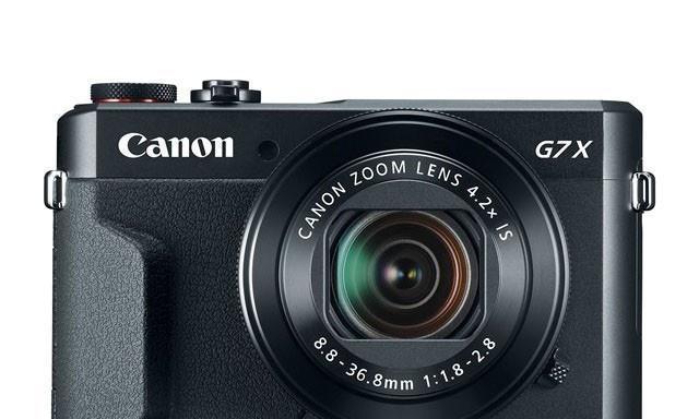 佳能便携相机G7X II搭载一英寸传感器