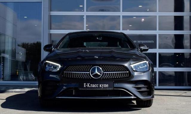 新款奔驰E级Coupe海外实拍 造型更加运动优雅