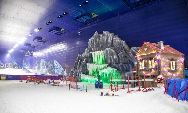 无需远行,在江南水乡就可以体验北欧风情的雪世界