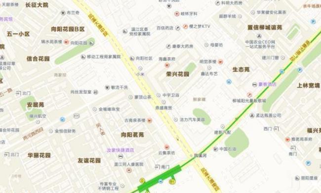 成都地铁在凤溪河站换乘4号线,形成远郊区,重要的交通节点