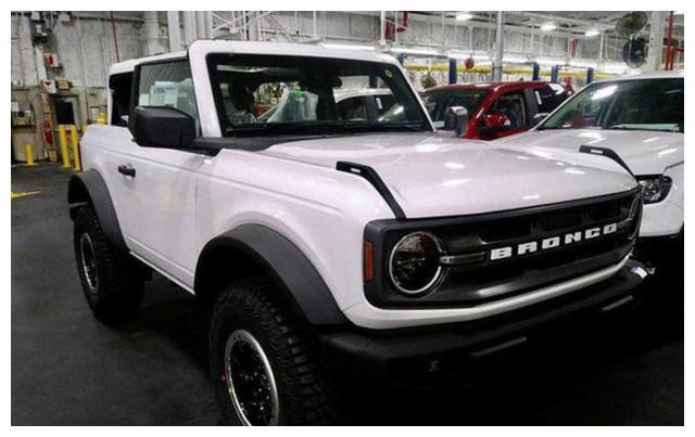 全新福特Bronco两门车型海外实拍 搭载2.3T发动机