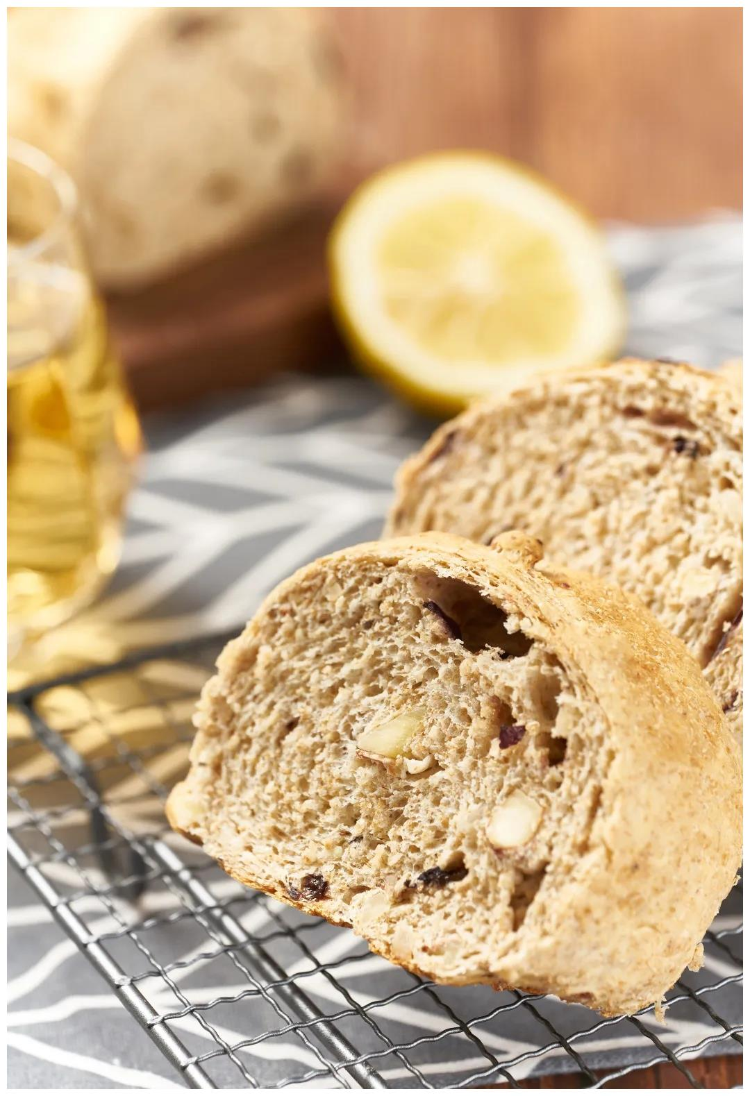 优美西点の低脂全麦面包,减脂达人的至爱~