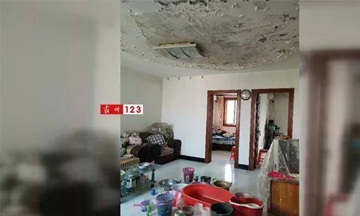 霸州阿尔卡迪亚小区多栋楼房漏雨,物业正在抓紧维修