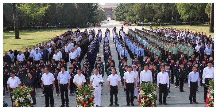 缅怀!临沂市在华东革命烈士陵园举行烈士纪念日公祭仪式