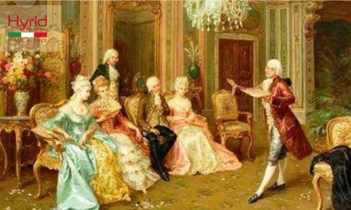 瑞加天然艺术涂料:欧洲贵族的前世今生