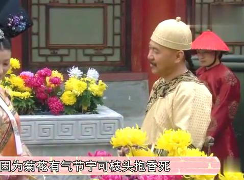 皇上赏给沈眉庄菊花,故意让华妃看见是有目的的,你知道吗?