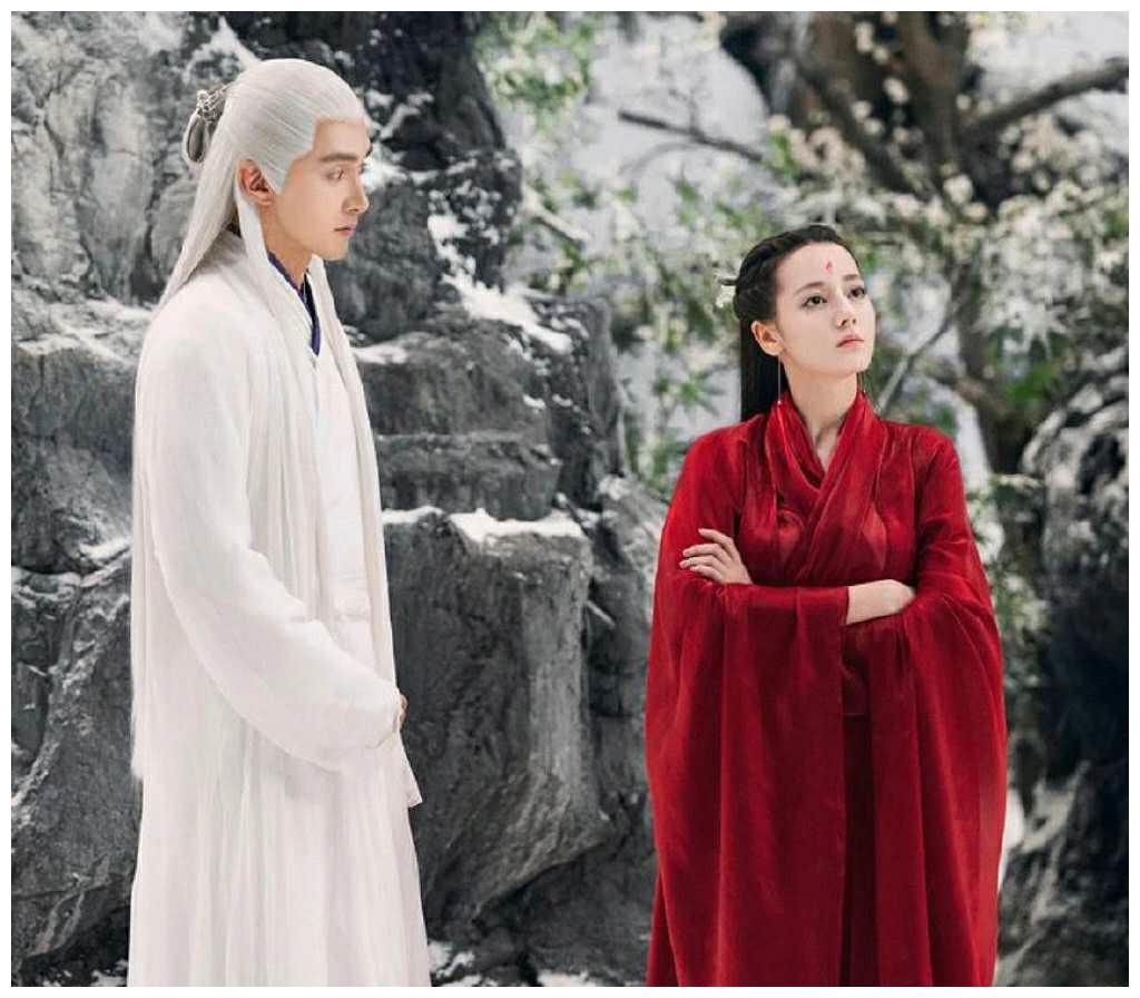 《枕上书》热巴一袭红衣惊艳,看到20多前的王祖贤邱淑贞才美爆了