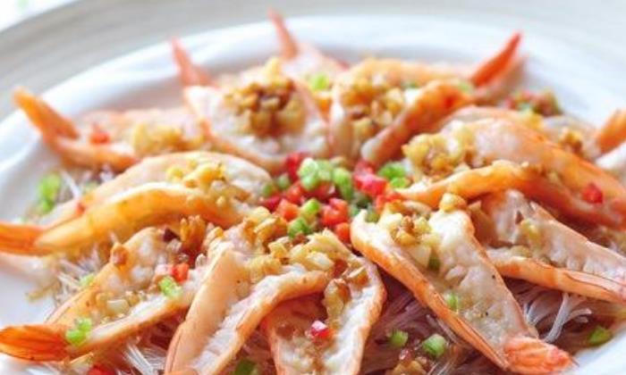 蒜蓉粉丝蒸虾的好吃做法,鲜香味美,简单营养,老少皆宜的家常菜