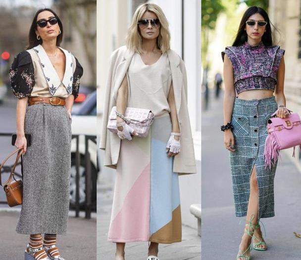 有品位的女人都在穿直筒裙,时髦优雅还修饰腿型,轻松阻挡假胯宽