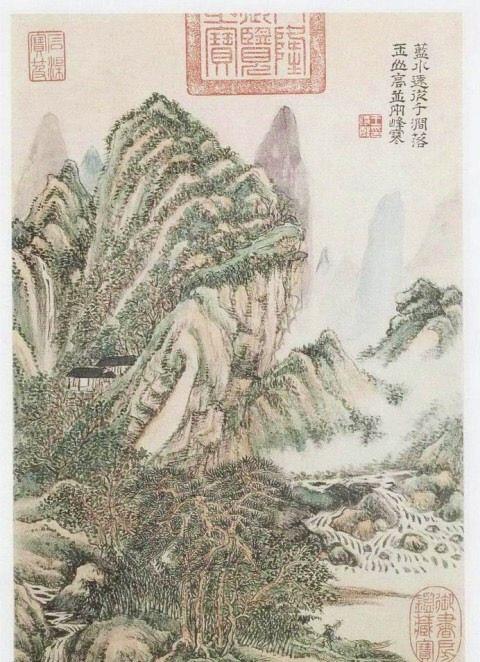 清王时敏《杜甫诗意图》,满纸墨韵,看图你能猜到是哪首杜诗吗?