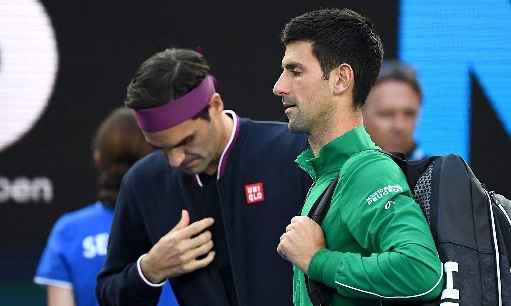 德约科维奇横扫费德勒,完成对奶牛6连胜,第8次杀入澳网男单决赛