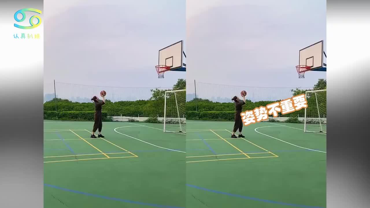 48岁黎姿打篮球动作熟练活力满满罕见晒老公视角少女心十足