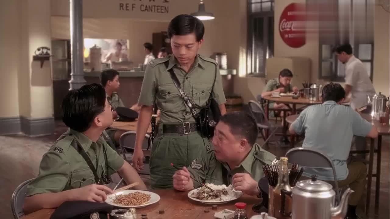 雷洛太固执阿叔一眼看出雷洛是潮州人要请他喝潮州茶