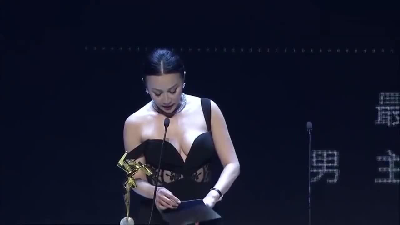 颁奖礼上的尴尬事,陈道明故意为难章子怡,台上台下一片尴尬