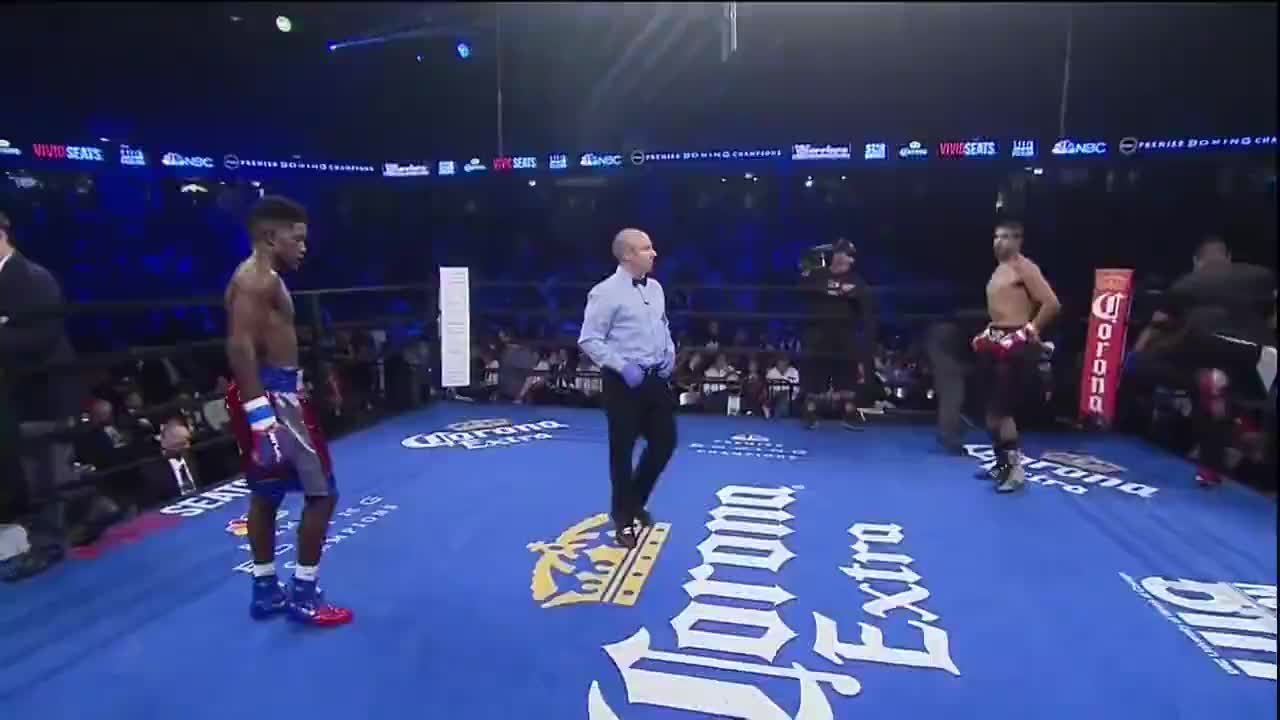 鲁宾不愧为泰森的嫡传弟子,一但重拳得手瞬间就能终结对手