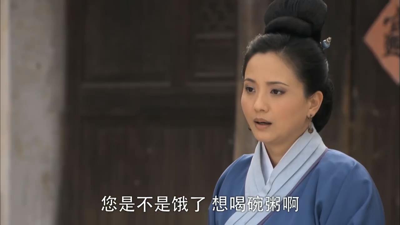 活佛济公:大娘把自己吃的东西都捐了出来,真是菩萨心肠
