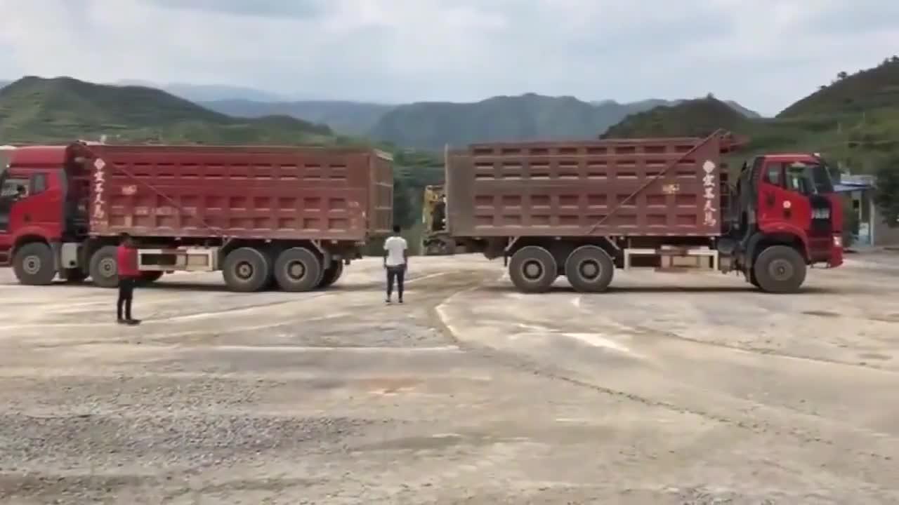 都是大货车,四桥和三桥却要比动力