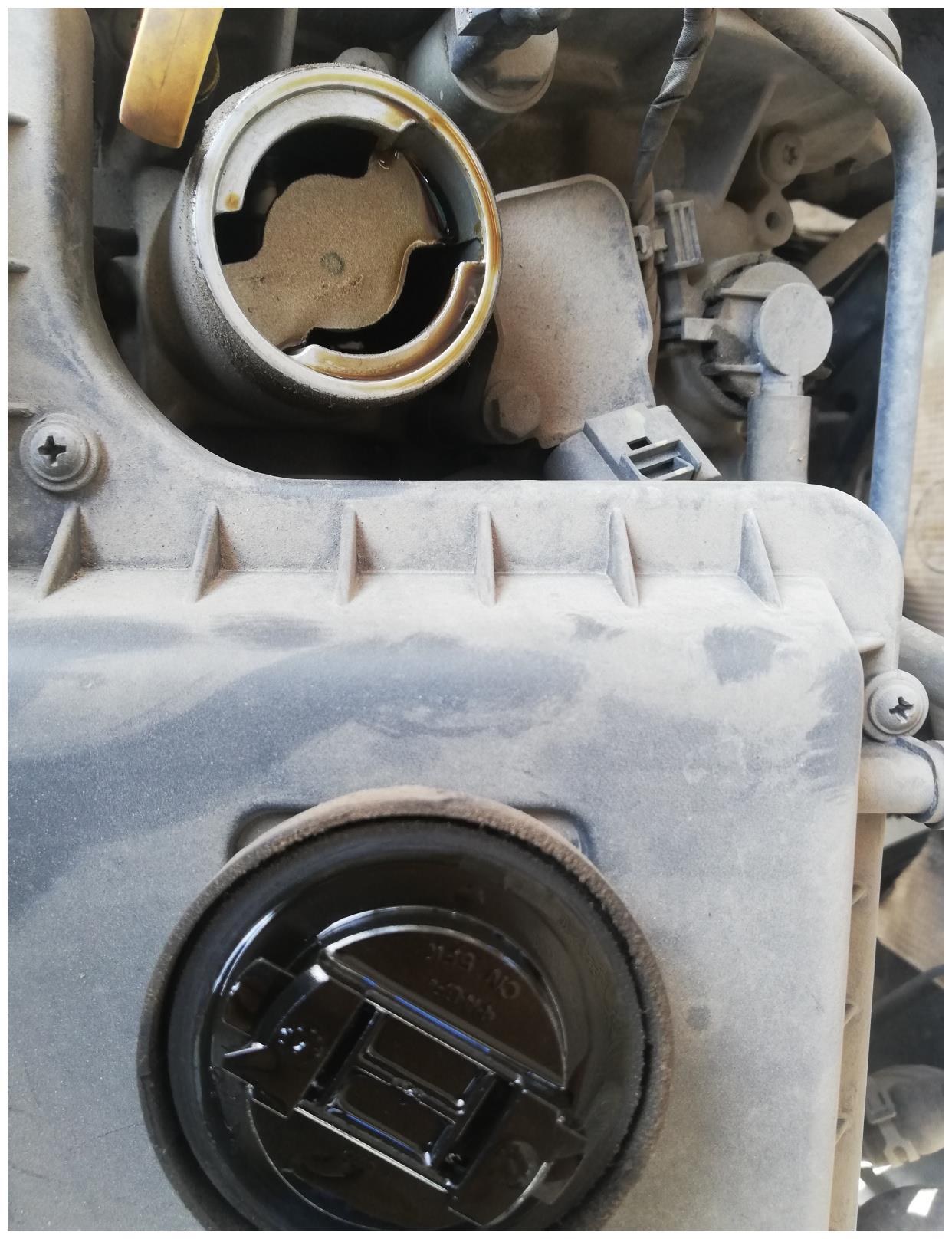 车子什么状态下说明你用的机油不合格呢?