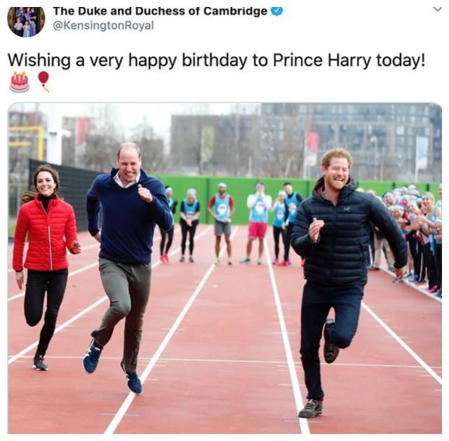 威廉凯特晒照为哈里庆生,被批故意冷落梅根阿奇:难怪哈里要跑!