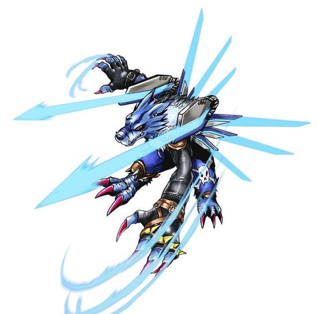 数码宝贝武装钢化兽人加鲁鲁官方设定公开 完全高达化的加鲁鲁兽