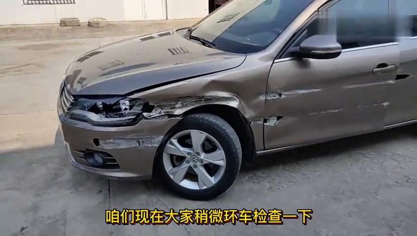 视频:拆解大众宝来,剐蹭以后修车花费一万多,一起看看需要换什么配件