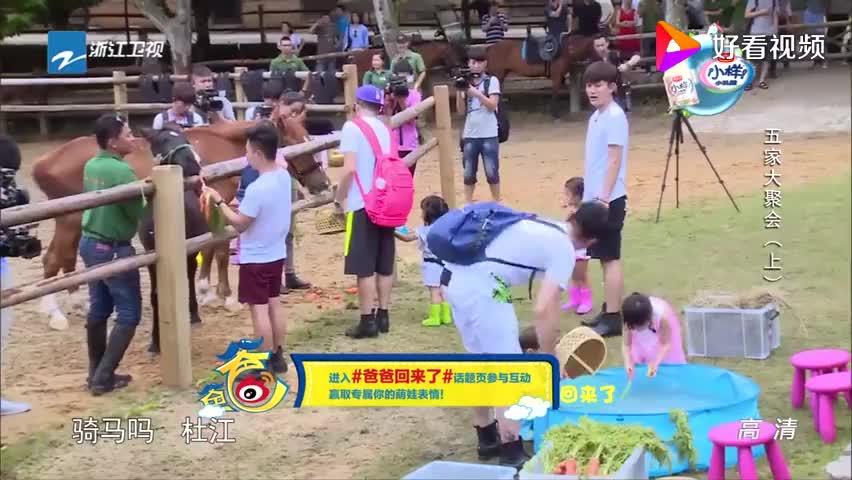 贾乃亮要跟杜江骑马,还说自己是拍古装戏出身,结果却帅不过三秒