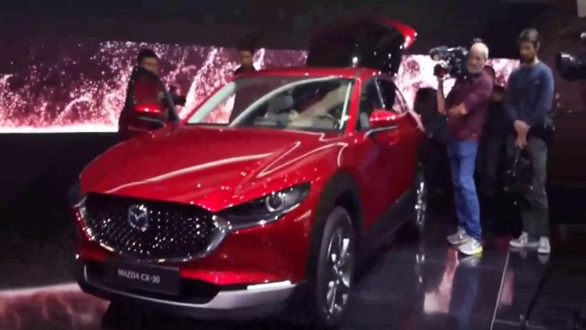 视频:2020款马自达CX-30抢先实拍,看到外观和内饰还买什么日产逍客