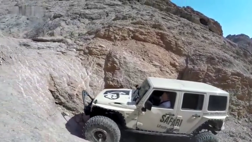 银川虎克之路悟道,Jeep牧马人挑战不可能极限天险!