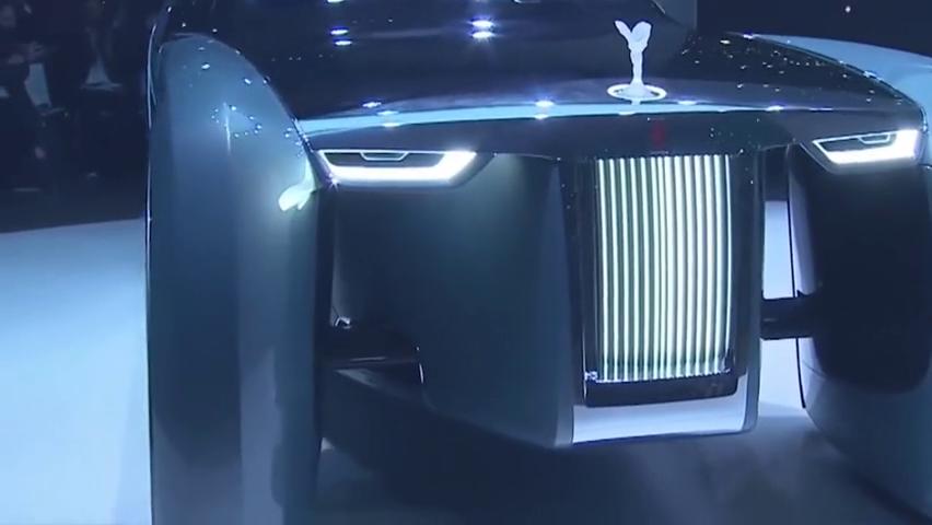劳斯莱斯首款自动驾驶电动概念车,颜值逆天的无人驾驶车