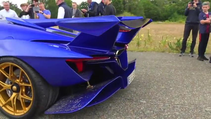 疯狂的270万美元阿波罗IE超级跑车!