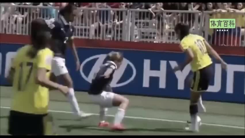 大胆问一句!这些女孩的脚法能不能和国足踢个平手
