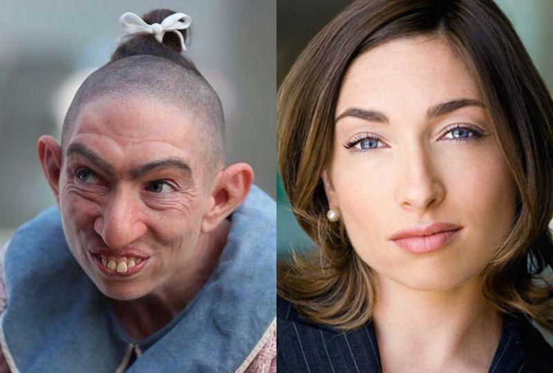 好莱坞女演员扮丑,敢吃敢增肥、剃头满脸灰,还能不修眉!