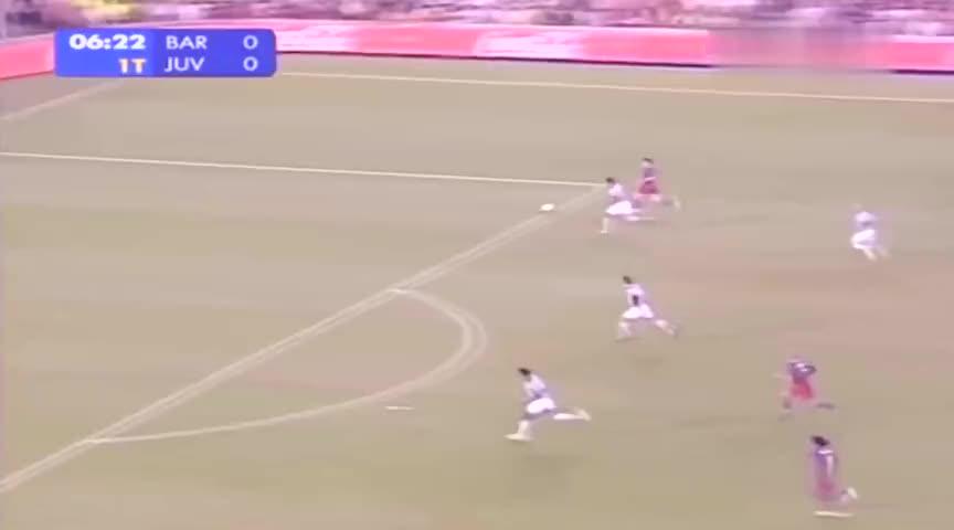球王成名之战,18岁梅西冲垮鼎盛尤文防线,一战成名震惊世界足坛