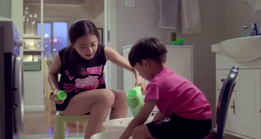 王小米怀孕,小玛瑙地位岌岌可危,孩子还没生就被姐姐压榨洗衣服