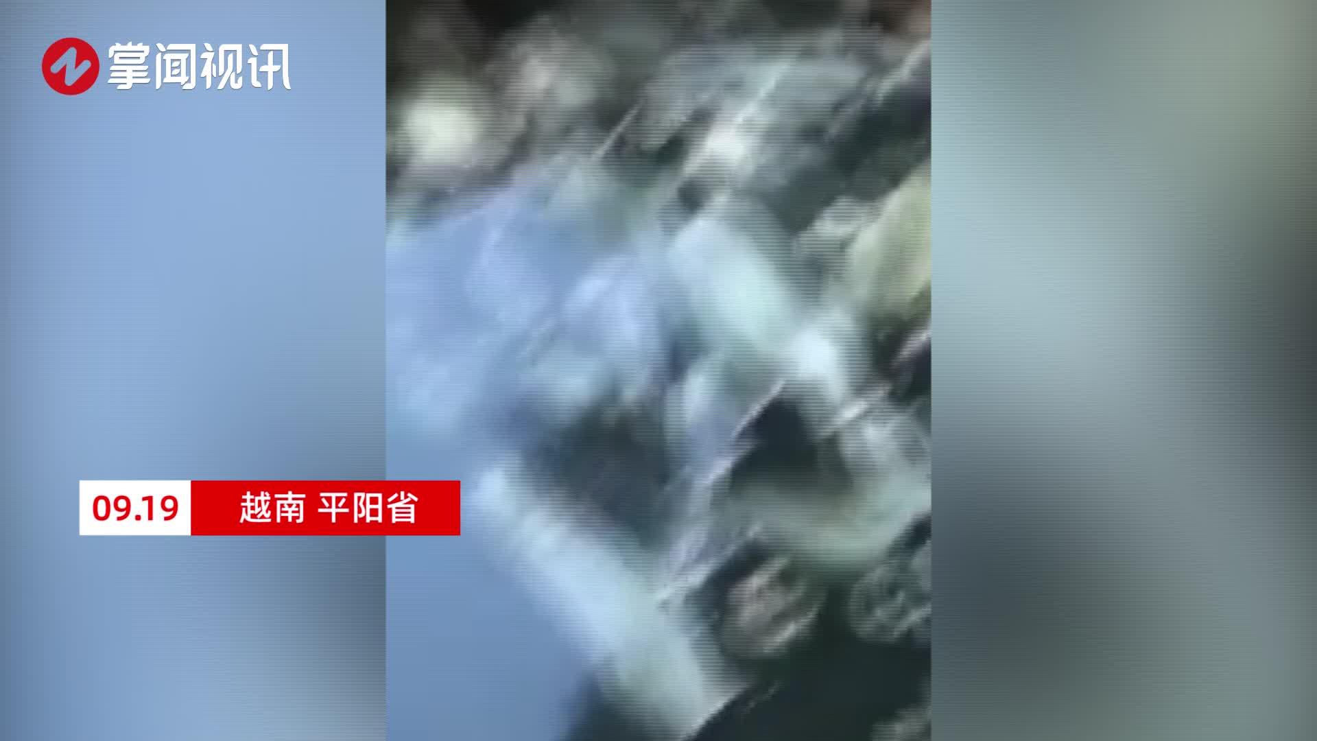 越南超30万安全套被回收后再售卖 密密麻麻浸泡在污水中令人作呕