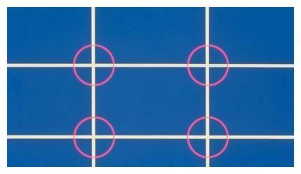 (二)提高构图的技巧——三分构图法