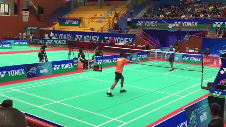 羽球小国越南,河内市锦标赛,男子单打决赛,这水平可真够高的!