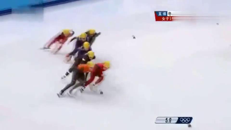 经典回顾周洋短道速滑1500米冠军!解说都破音了!依旧热血沸腾!