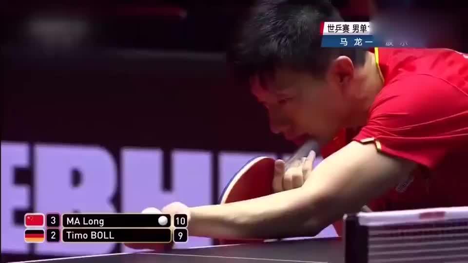 马龙4比2战胜波尔 男星任达华祝福 马龙世乒赛夺冠了