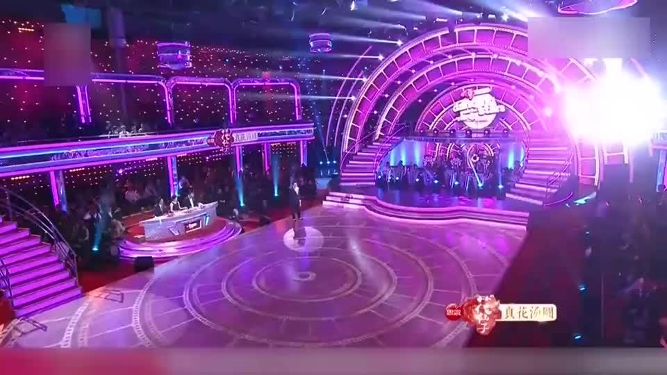 与星共舞:温升豪的舞伴大有来头,竟是拉丁舞冠军,果然自带气场