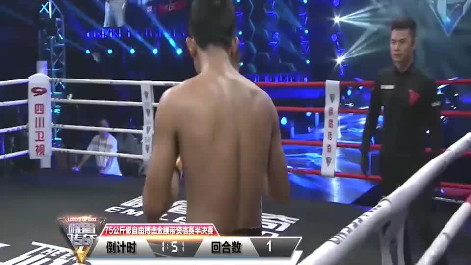 泰拳王高扫太刁钻,直接让对手躺在地上起不来,医生上台急救!