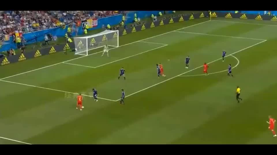 回顾世界杯经典比赛,比利时压哨绝杀3球逆转日本!