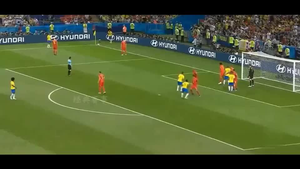 俄罗斯世界杯经典比赛,德布劳内世界波,比利时淘汰五星巴西!