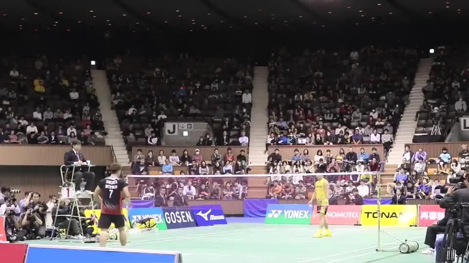 桃田贤斗禁赛前,杀的佐佐木翔难以招架,拿下日本全国总决赛金牌