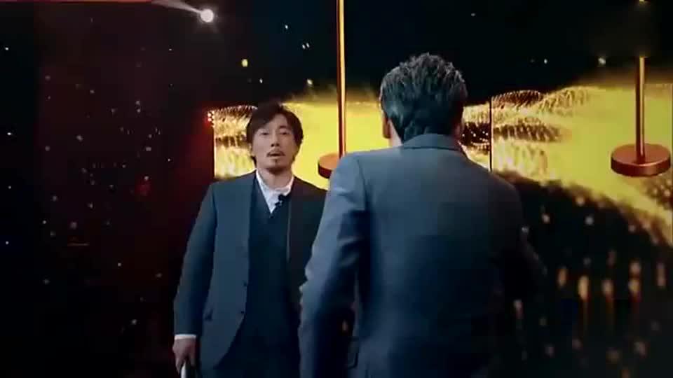 王劲松赵立新一段即兴表演,观众沸腾,陈凯歌惊呆!