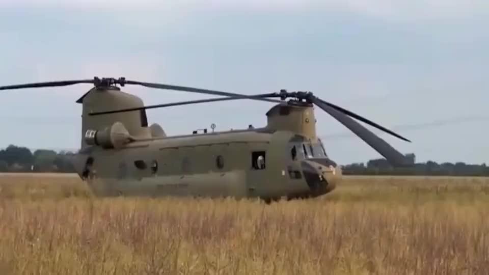 国外的新型直升机,启动的那一刻,真担心这一对螺旋桨相碰!