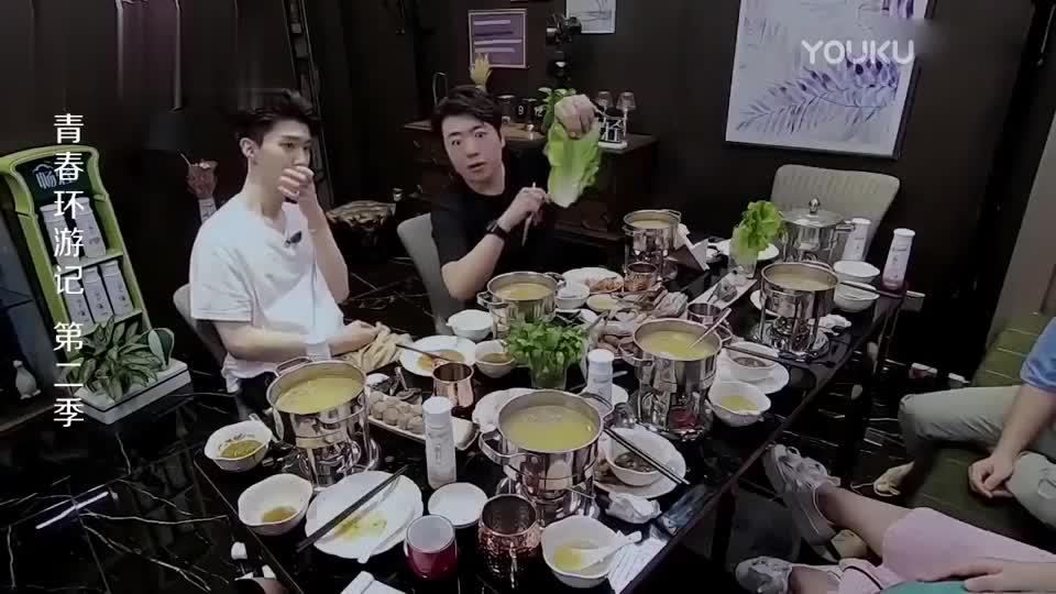 环游记:郎朗饭量大曝光,涮火锅从头吃到尾,贾玲都傻眼了