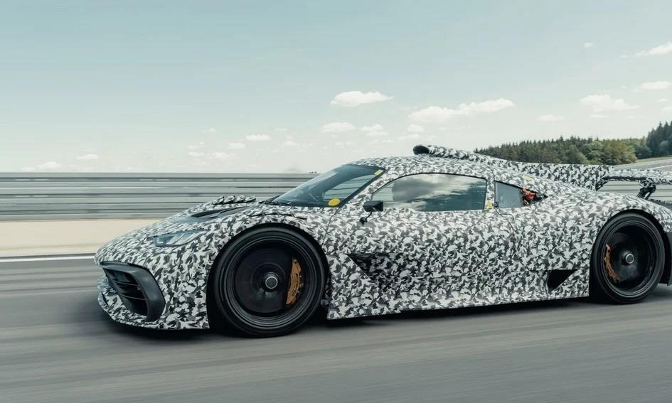 奔驰AMG One搭载F1引擎,最大马力可达1200匹