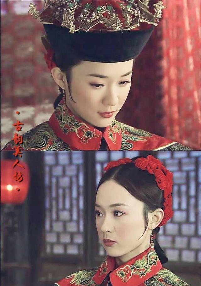 霍思燕眼光太好了,蓝色印花裙娇美温柔,杜江捡到了个宝贝