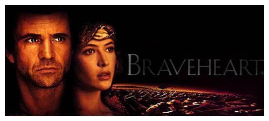 豆瓣评分8.9;梅尔·吉布森自导自演《勇敢的心》讲述英雄史诗